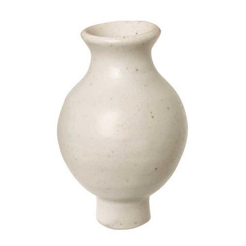 Grimms Vase, weiß