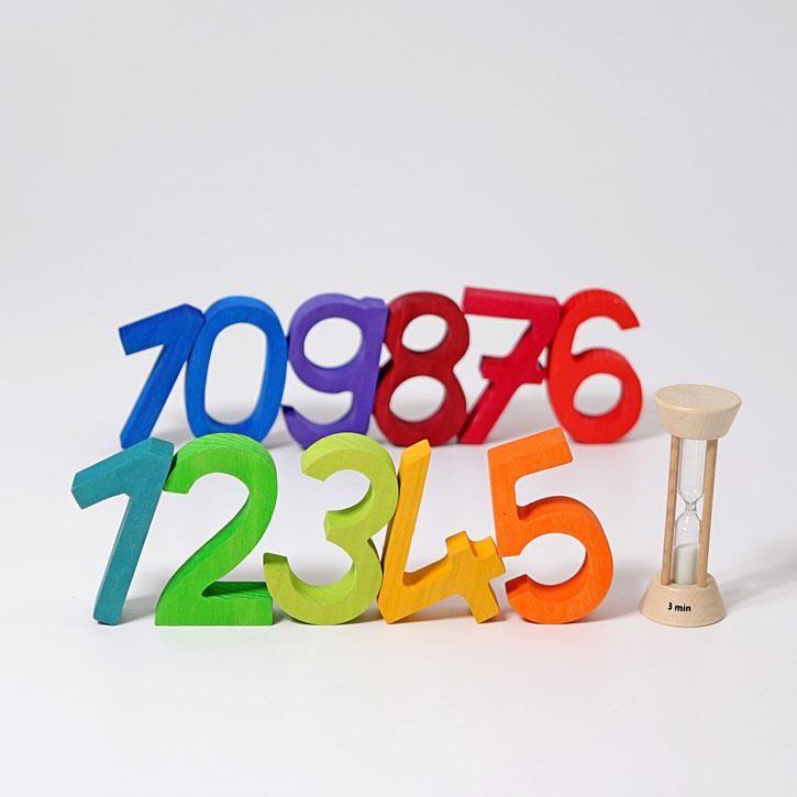 Grimms Bauset Zahlen, im Karton