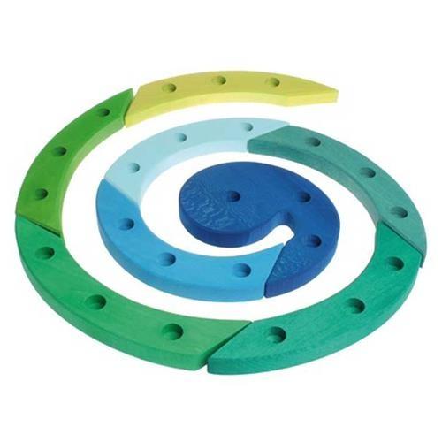 Grimms Geburtstagsspirale, blau-grün