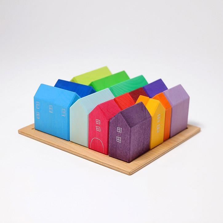 Grimms Häuser,bunt