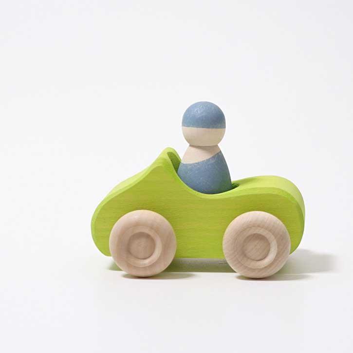 Grimms Holzauto Kleines Cabrio Grün