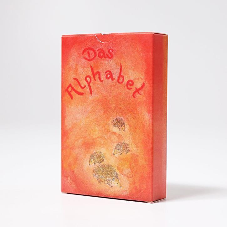 Grimms Kartenspiel Alphabet, 48 Blatt