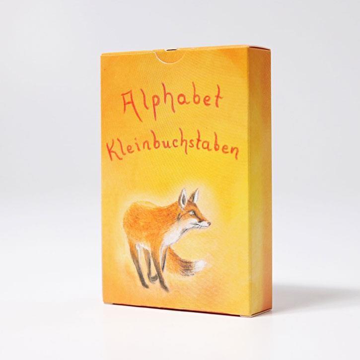 Grimms Kartenspiel Alphabet Kleinbuchstaben, 48 Blatt