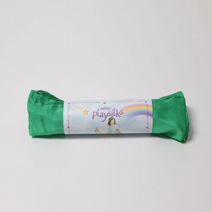 Grimms Kleine Spiel-Seide, smaragdgrün