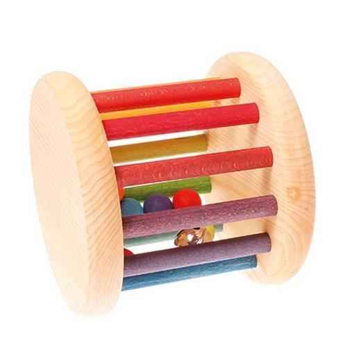Grimms Klingender Baby Roller, Regenbogenfarben