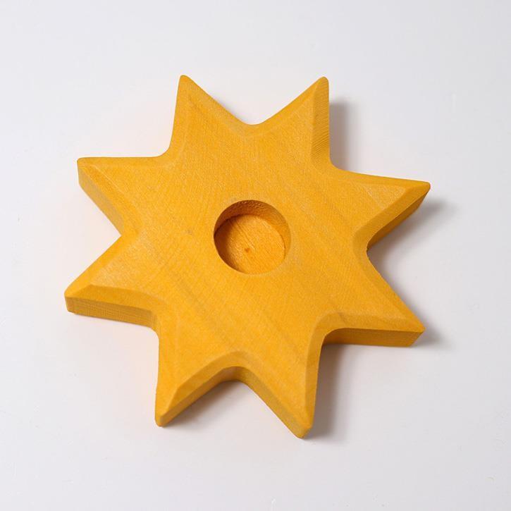 Grimms Lebenslicht Stern, gelb