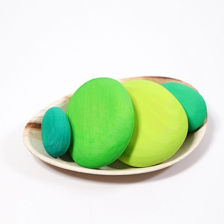 Grimms Mooskiesel, grün