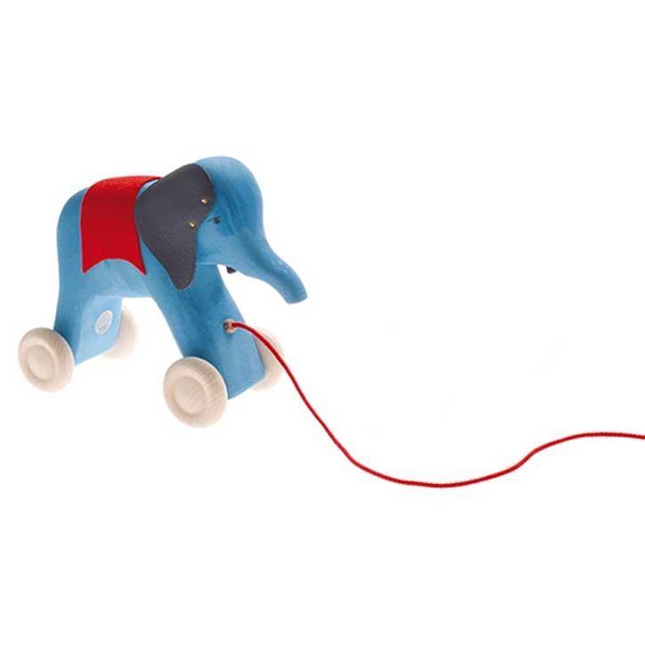 Grimms Nachziehtier Elefant, blau