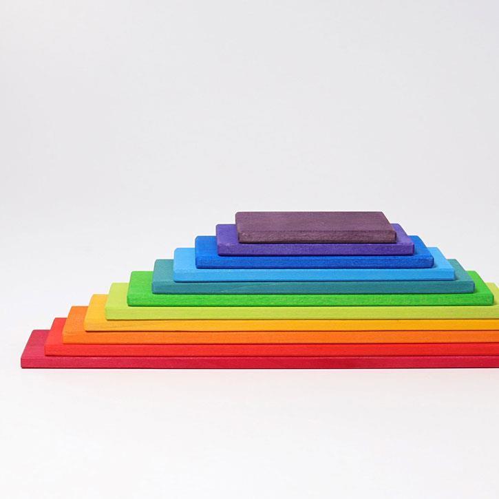 Grimms Regenbogen Bauplatten