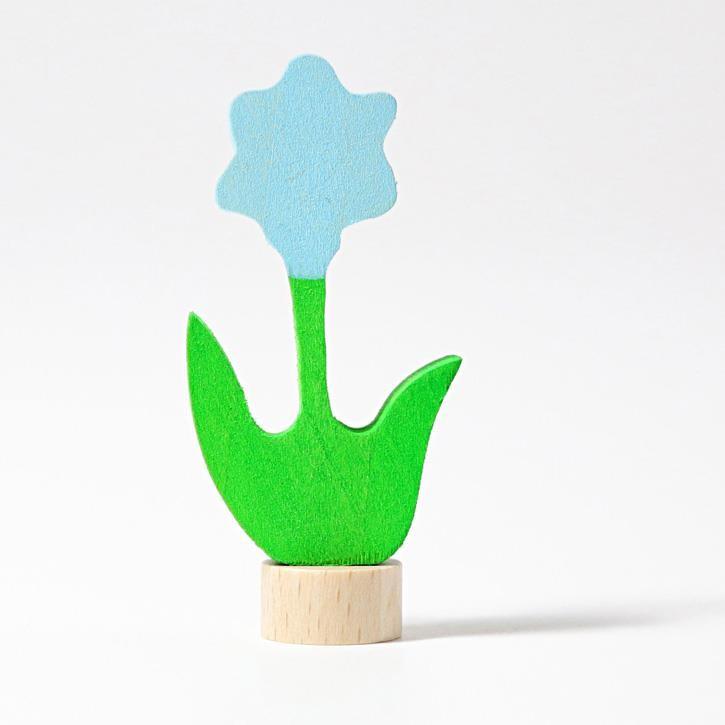 Grimms Stecker blaue Blume