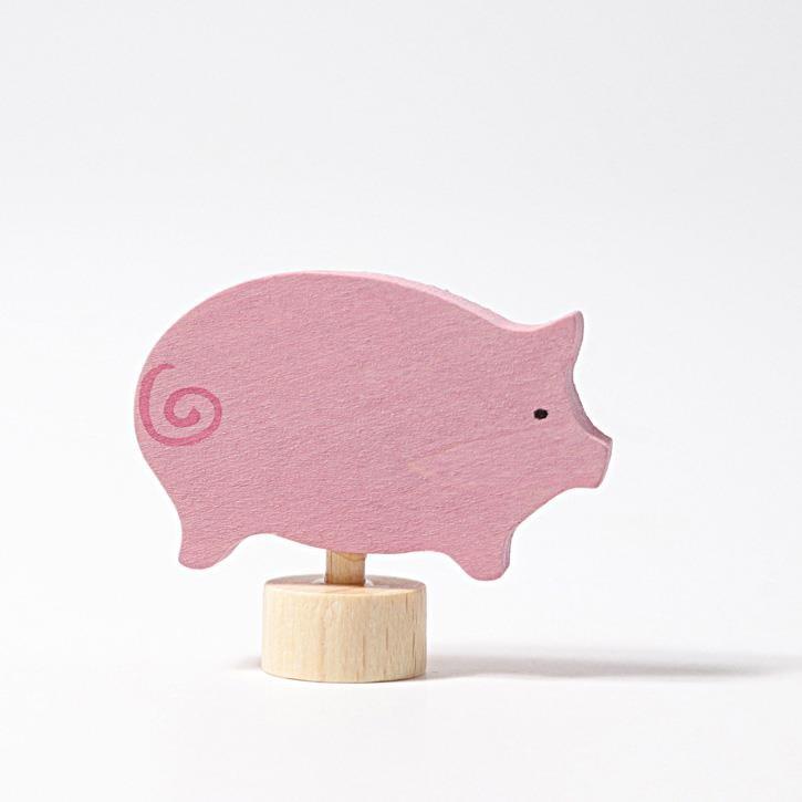 Grimms Stecker rosa Schwein