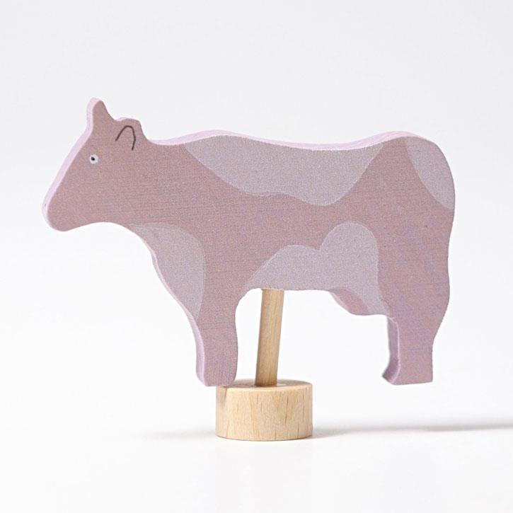 Grimms Steckfigur Kuh gefleckt
