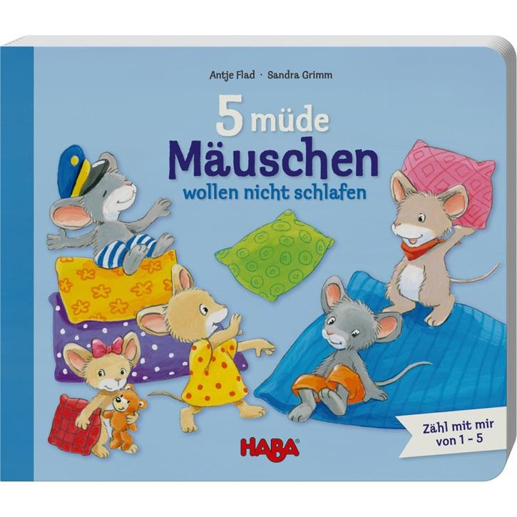 Haba 5 müde Mäuschen wollen nicht