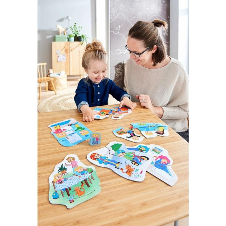 Haba 6 erste Puzzles – Mein Tag