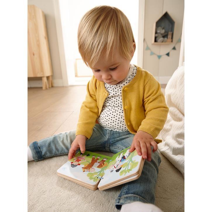 Haba Holz-Babybuch Reiterhof