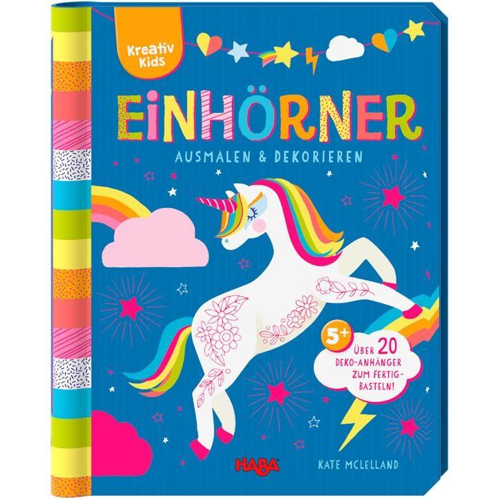 Haba Kreativ Kids- Einhörner ausmalen & dekorieren