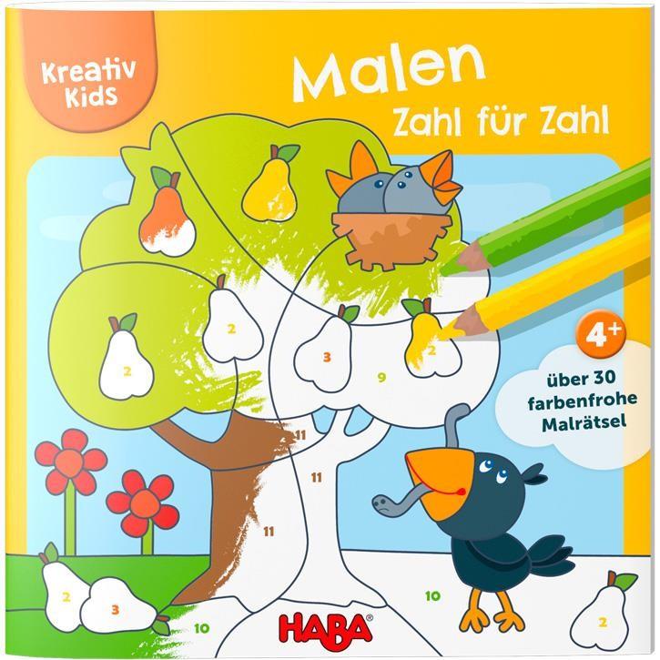 Haba Kreativ Kids- Malen Zahl für Zahl
