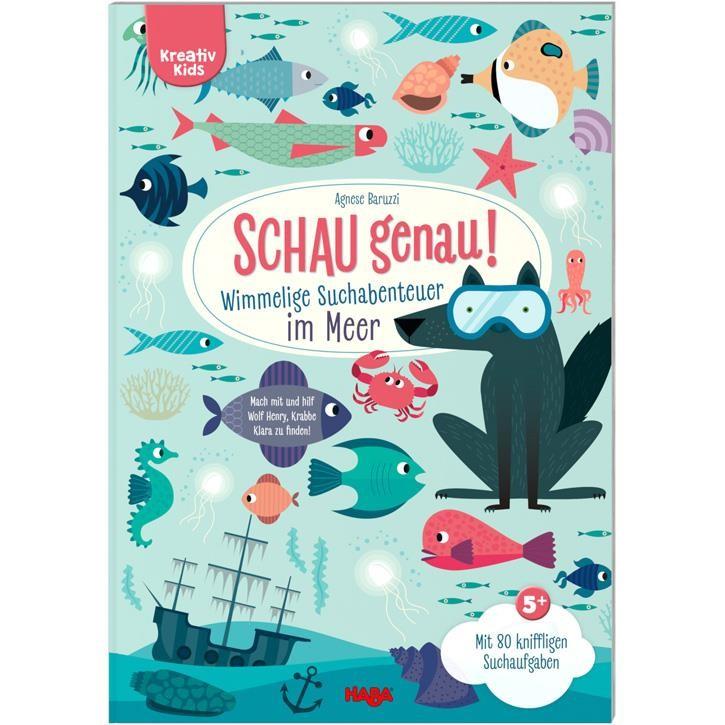 Haba Kreativ Kids- Schau genau! Wimmlige Suchabenteuer im Meer