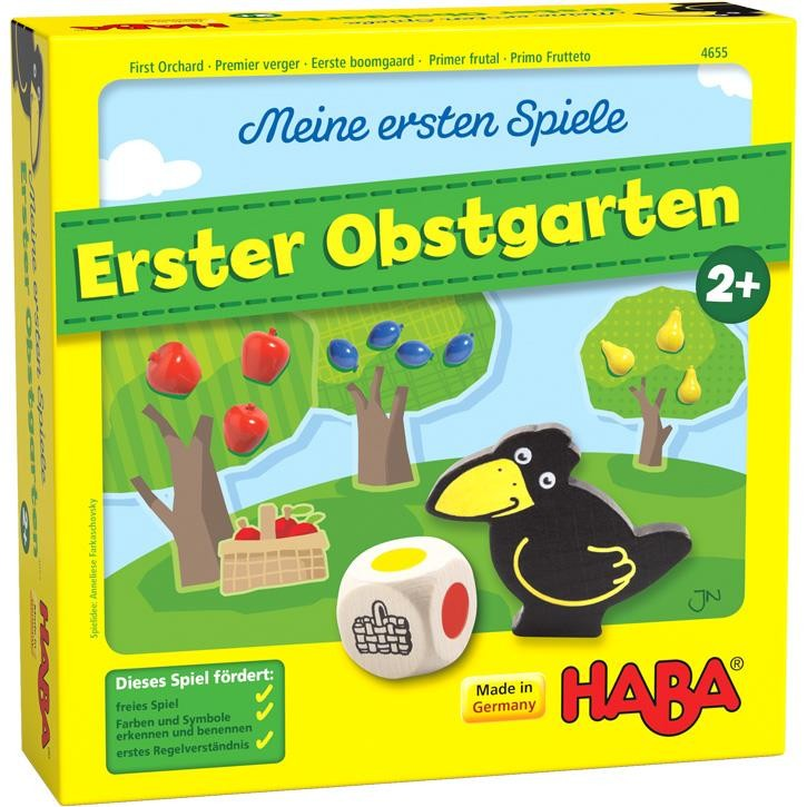 Haba Meine ersten Spiele – Erster Obstgarten 2+
