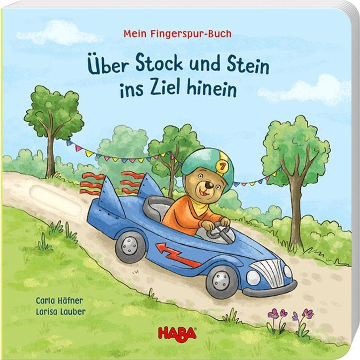 Haba Mein Fingerspur-Buch – Über Stock und Stein ins Ziel hinein
