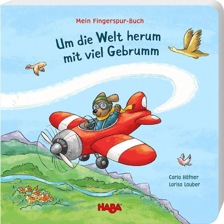 Haba Mein Fingerspur-Buch – Um die Welt herum mit viel Gebrumm