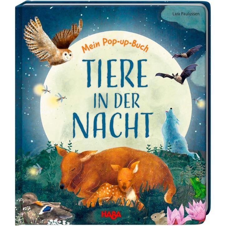 Haba Mein Pop-up-Buch Tiere in der Nacht 2+