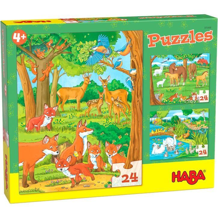 Haba Puzzel Tierfamilie