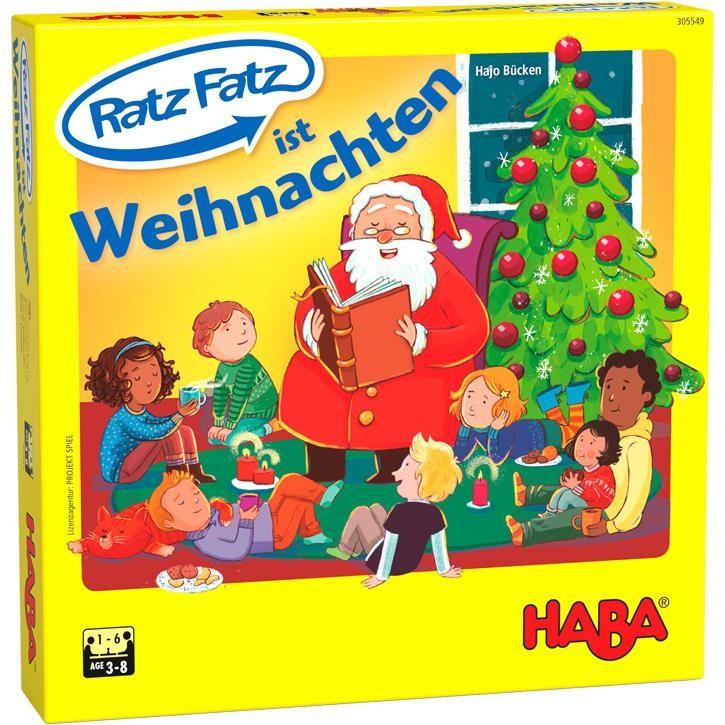 Haba Ratz Fatz ist Weihnachten 3+