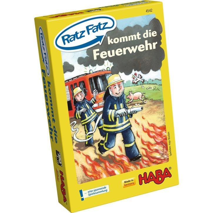Haba Ratz Fatz kommt die Feuerwehr 3+