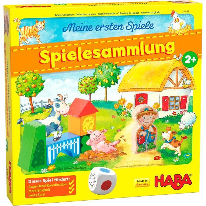 Haba Spielesammlung Bauernhof 2+  Meine ersten Spiele