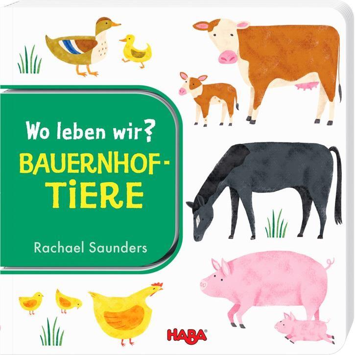 Haba Wo leben wir? Bauernhoftiere