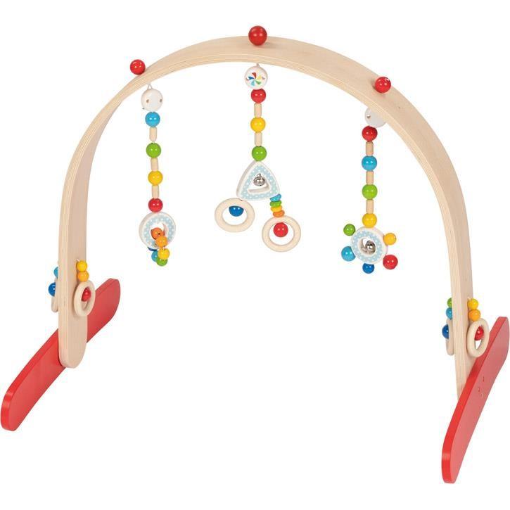 HEIMESS Baby-Fit Confetti, Greif- und Spieltrainer 766094 0+ Holz