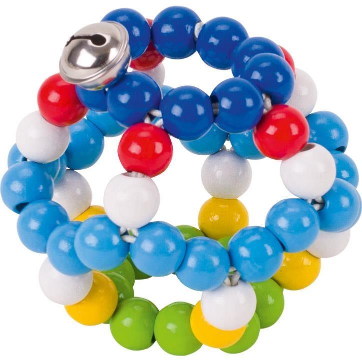 HEIMESS Greifling Elastik Ball, blau 764460 0+ Holz
