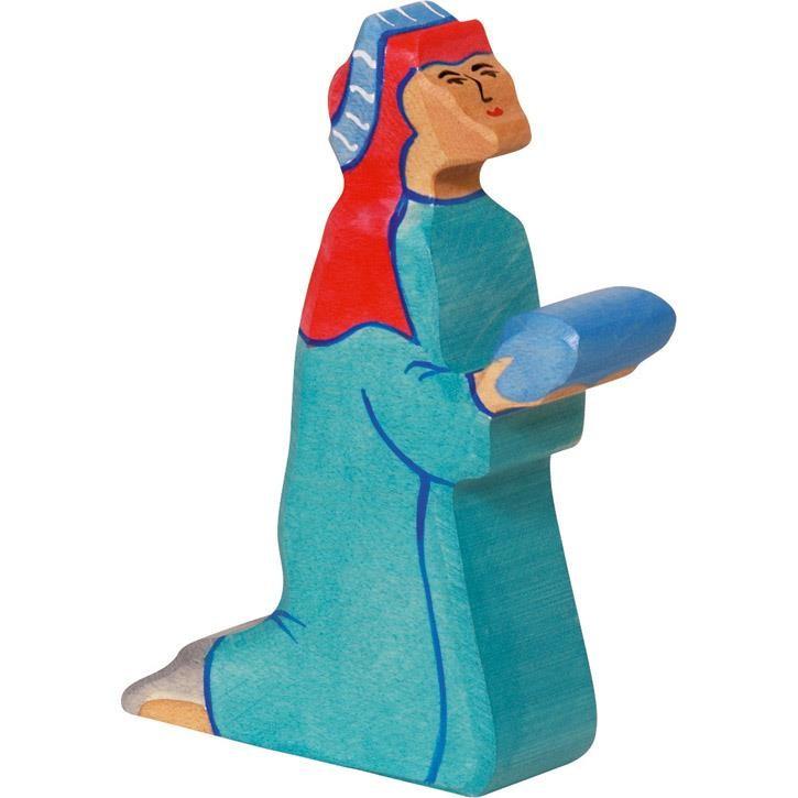 HOLZTIGER Balthasar 2, blau 80295 3+ Holz