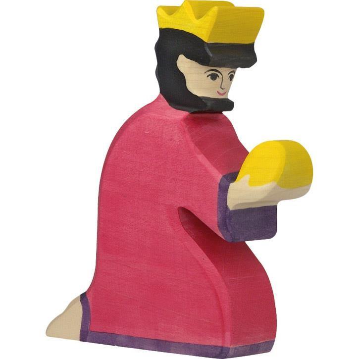 HOLZTIGER Balthasar, rot 80284 3+ Holz