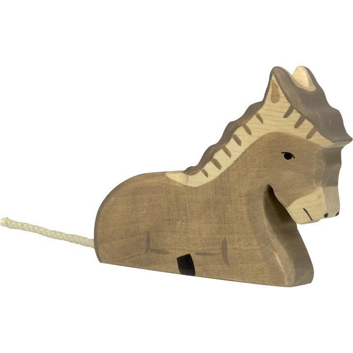 HOLZTIGER Esel, liegend 80048 3+ Holz