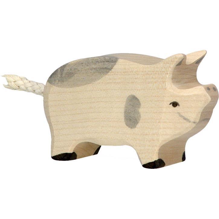 HOLZTIGER Ferkel, gefleckt 80070 3+ Holz