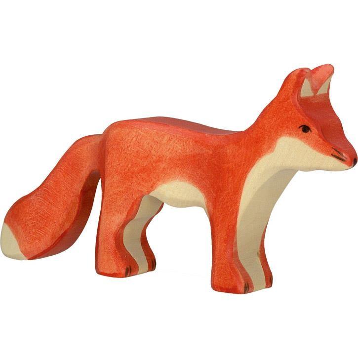 HOLZTIGER Fuchs, stehend 80095 3+ Holz