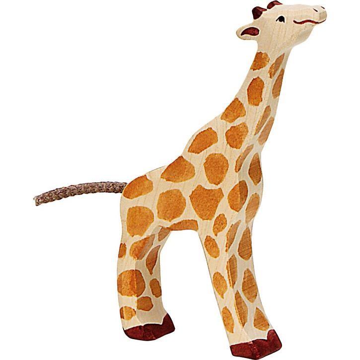 HOLZTIGER Giraffe, klein, fressend 80157 3+ Holz