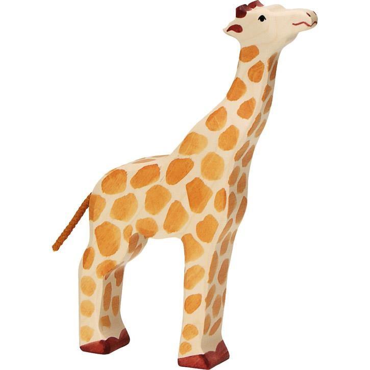HOLZTIGER Giraffe, Kopf hoch 80155 3+ Holz