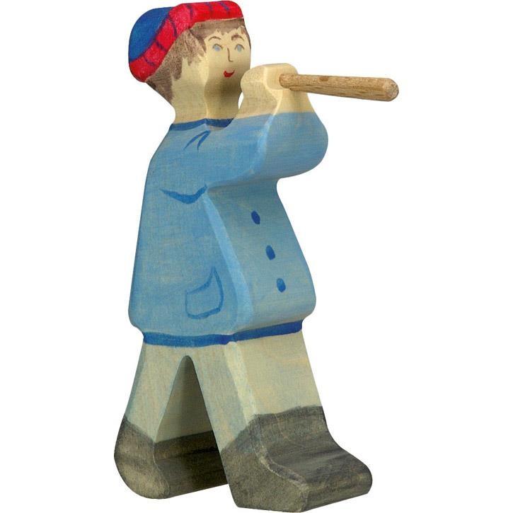 HOLZTIGER Hirte mit Flöte 2 80304 3+ Holz