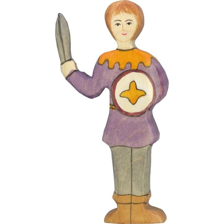 HOLZTIGER Junge, violettes Hemd 80242 3+ Holz
