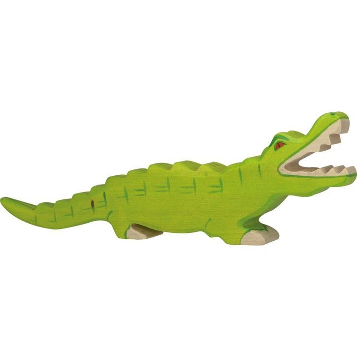 HOLZTIGER Krokodil 80174 3+ Holz