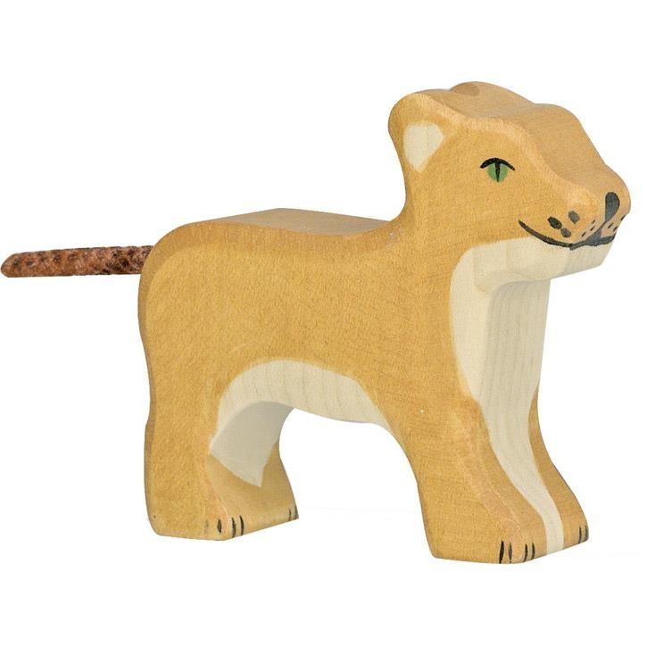HOLZTIGER Löwe, klein, stehend 80141 3+ Holz