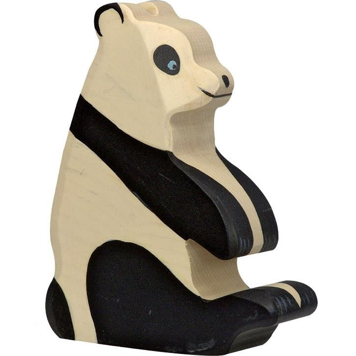 HOLZTIGER Pandabär, sitzend 80191 3+ Holz