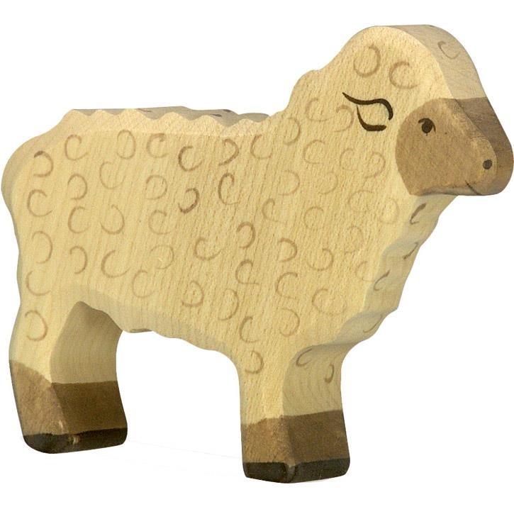 HOLZTIGER Schaf, stehend 80073 3+ Holz