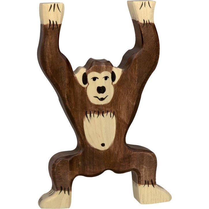 HOLZTIGER Schimpanse, stehend 80169 3+ Holz