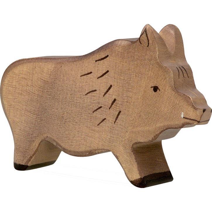 HOLZTIGER Wildschwein, Eber 80092 3+ Holz