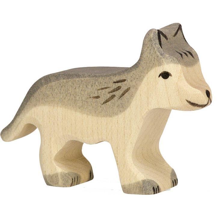 HOLZTIGER Wolf, klein 80110 3+ Holz