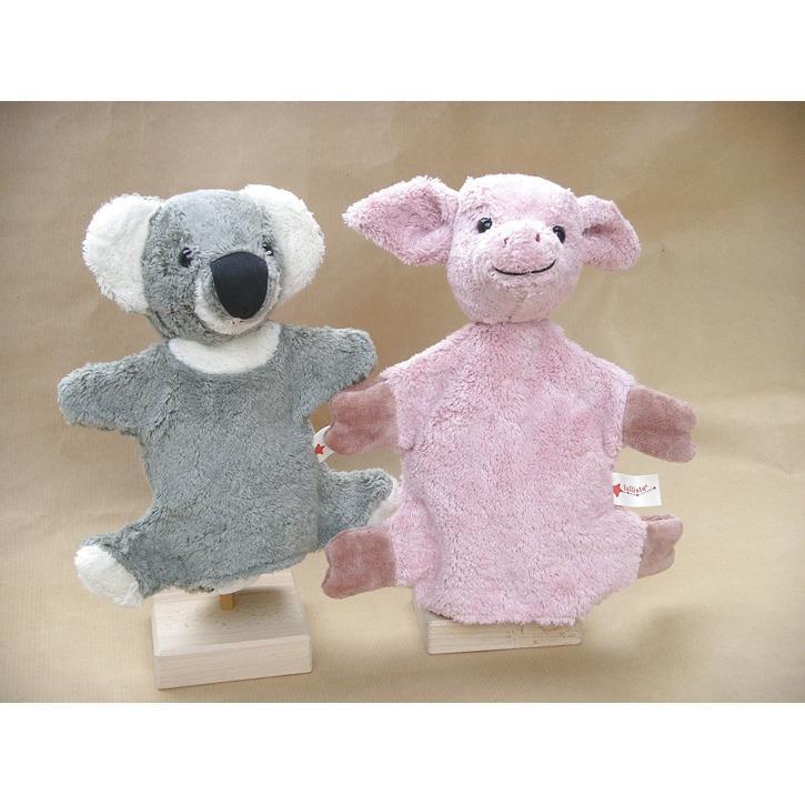 Kallisto Handpuppen Schwein / Pig rosa